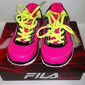 Fila girls size 12 sneakers